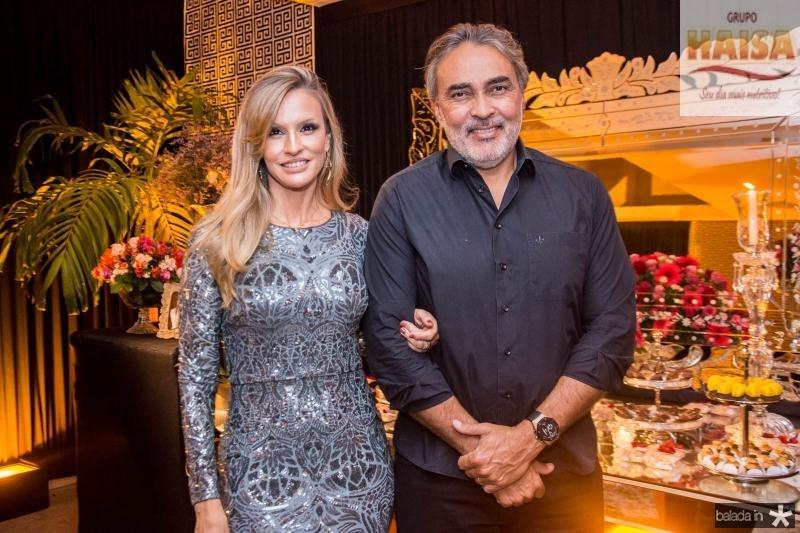 Veronica Picanço e Paulo Angelim