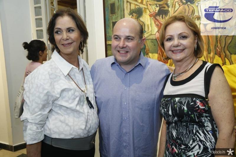 Olga Leite Barbosa, Roberto Claudio e Lurdinha Leite Barbosa