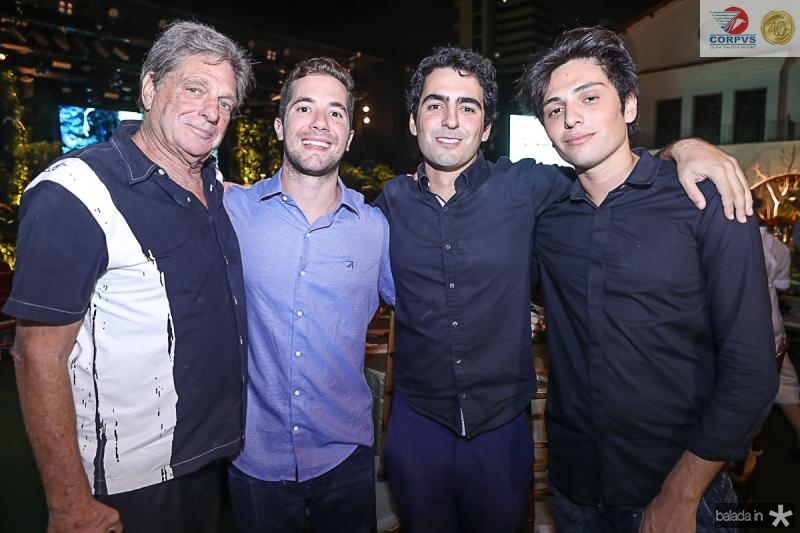 Richard Druz, Guilherme Rolim, Max e Lucas Druz