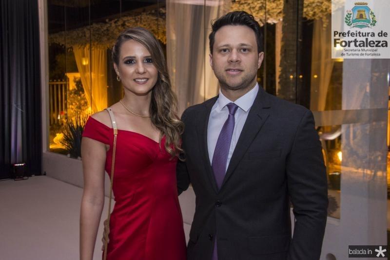 Ana Luiza Ramalho e Diego Lima