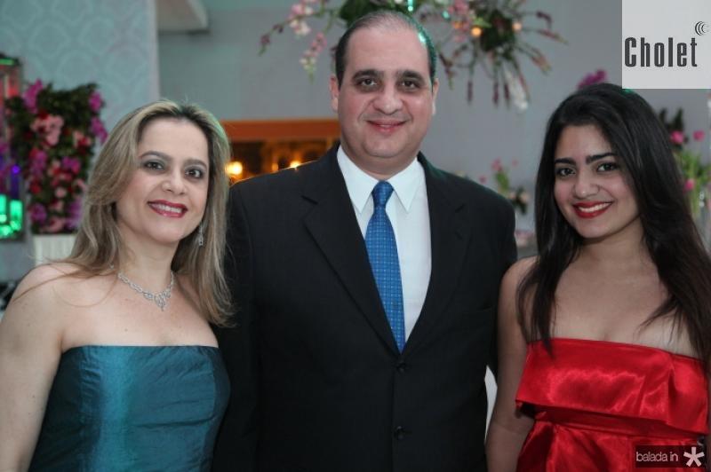 Cristiane, Walder e Carolina Ary