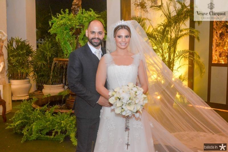 Paulo e Sabrina Ximenes (