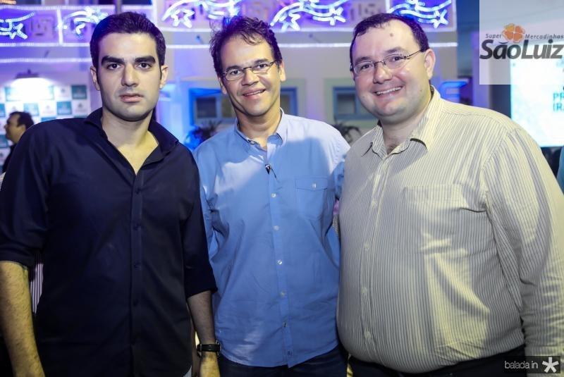 Rodrigo Nogueira, Marcelo Pinheiro e Mosiah Torgan