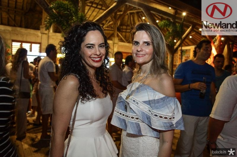 Luciana Fiuza e Viviane Goyanna