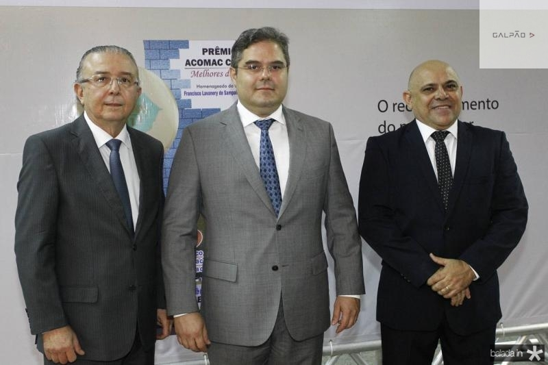 Antonio Jose Mello, Edson Queiroz e Carlito Lira