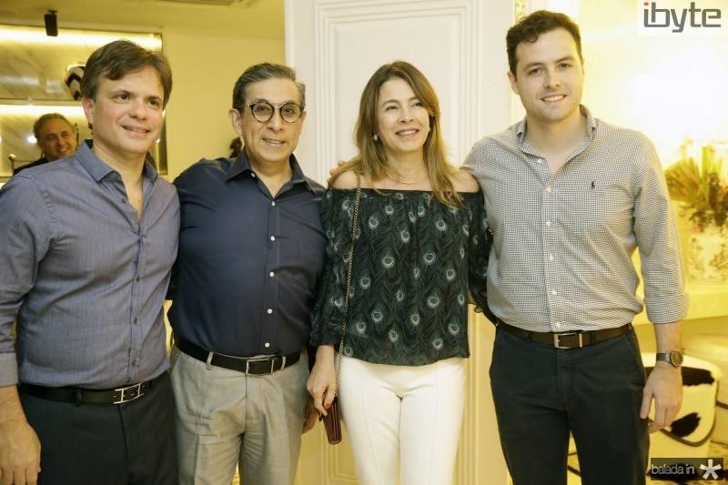 Andre Juca, Javier Yugar, Cristiana e Guilherme Hilgert