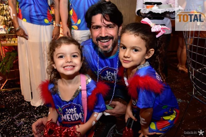 Leticia, Romulo e Sabrina Santos