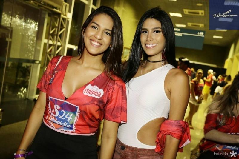 Priscila Duarte e Lorena Matos