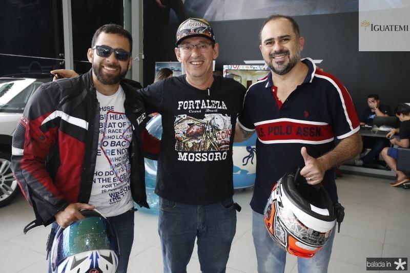 Francisco Mourao, Gerardo Aguiar e Girao Neto