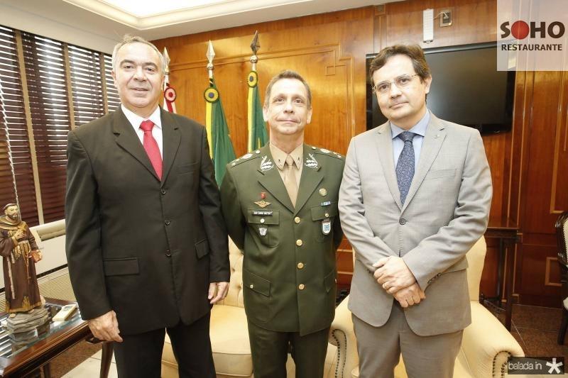 Luiz Eduardo Menezes, Genaral Cunha Matos e Edilberto Pontes