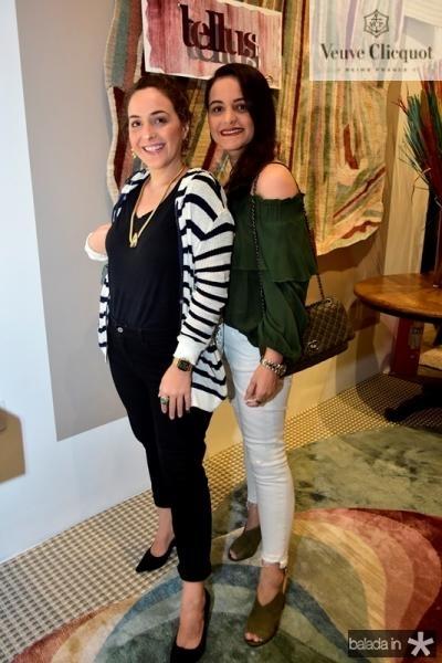 Rafaela Teixeira e Sara Carneiro