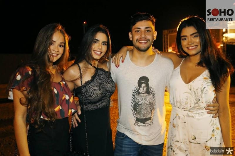 Maressa Miranda, Dara Cidade, Mendes Junior e Lia Leite