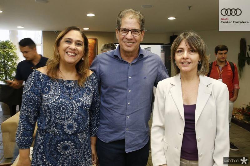 Regina Carvalho, Severino Ramalho Neto e Circe Jane