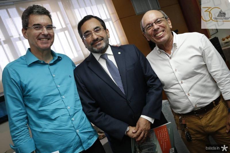Geraldo Luciano, Jardson Cruz e Andre Montenegro