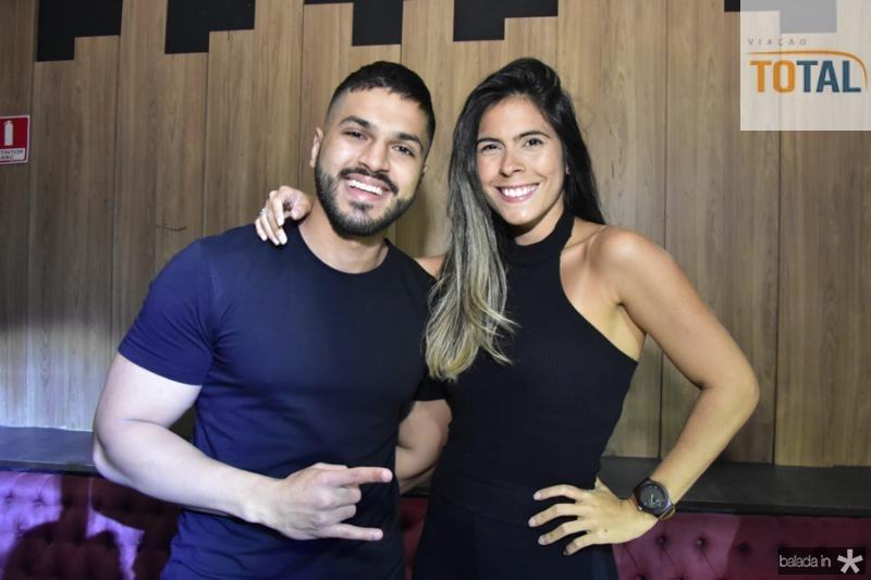 Fabio Machado e Luana Brau