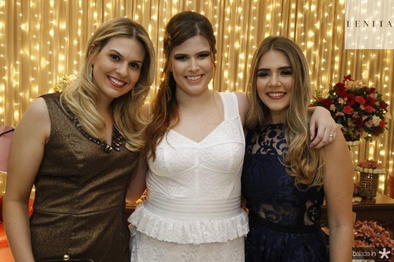 camila Moreira de Sousa, Ana Maria e Paula Linhares
