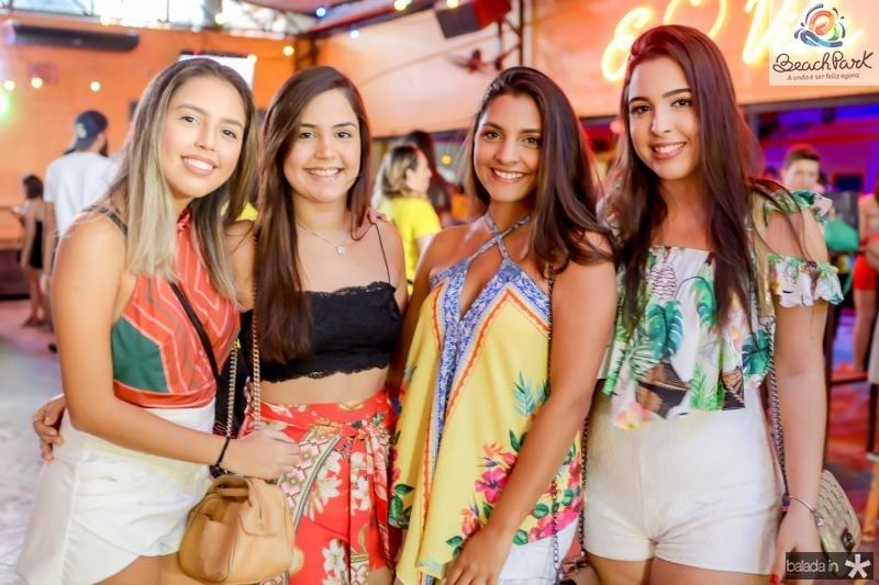 Suiane Barbosa, Thais Azevedo, Livia Cabral e Jessica Gurgel