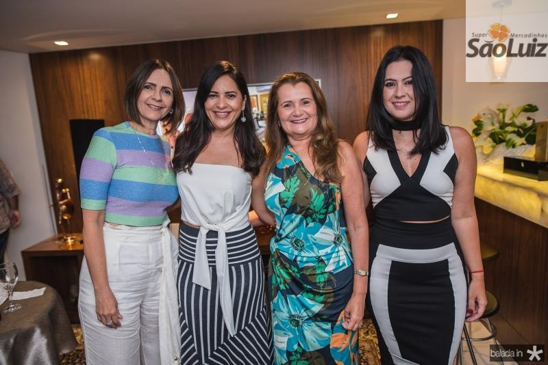 Carla Sleiman, Mirian Pereira, Fatima Moraes e Cynara Rodrigues