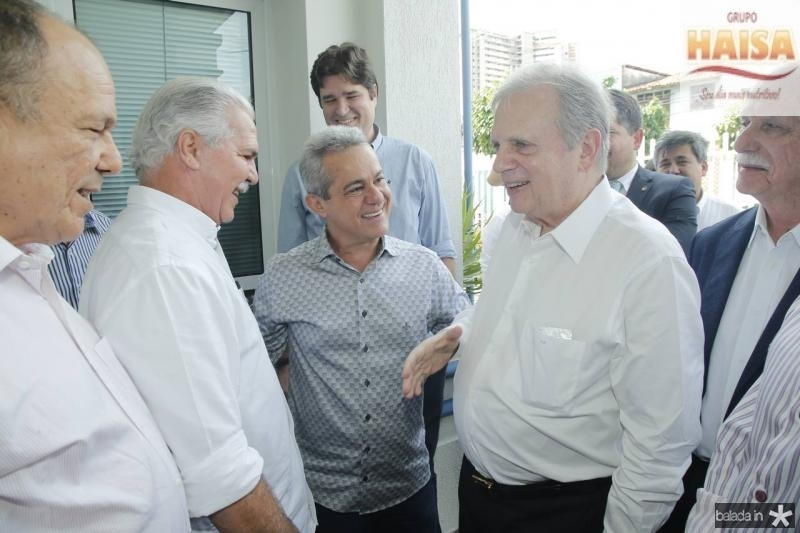 Honorio Pinheiro, Pio Rodrigues, Zenir, Tasso Jereissati e Freitas Cordeiro