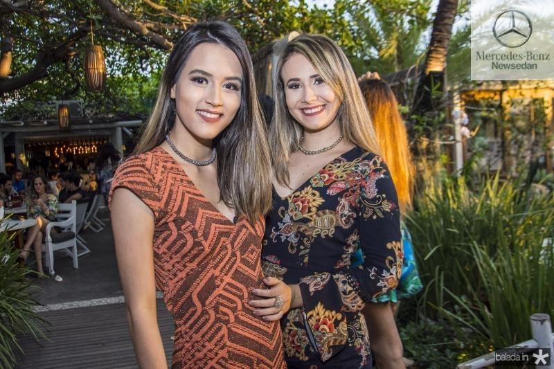 Alice Salvatore e Daiane Nogueira