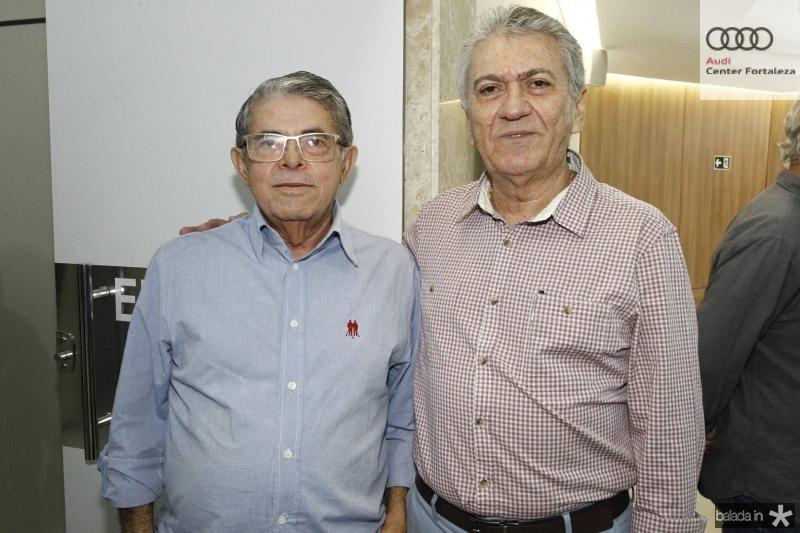 Manuel Rubens e Clovis Nogueira