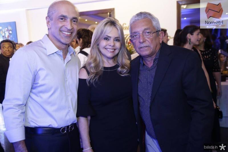 Mario Jorge e Claudia Menescal e Tadeu Sobreira