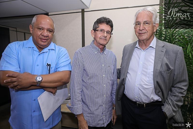 Pedro Alfredo, Agostinho Alcantara e Carlos Prado