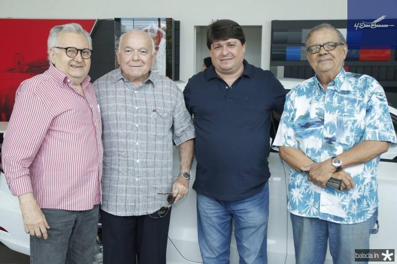 Marconi Viana, Joao Carlos Pinheiro, George Lima e Maninho Brigido