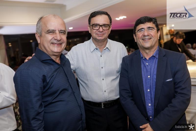Wigens Garcia, Antonio Barroso e Samuel Araripe