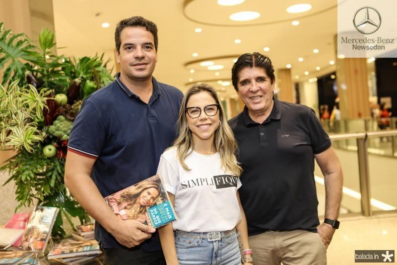 Thiago Holanda, Mirella Rocha e Dito Machado