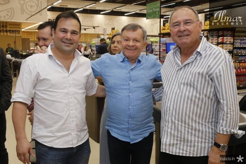 Victor Lima, Edilmo Cunha e Edimilson Lima