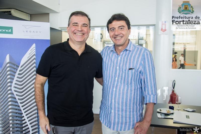 Ricardo Bezerra e Luiz Teixeira