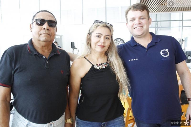 Jose Myra , Eleniza Moraes e Ernan Alves