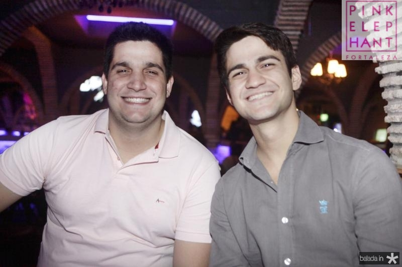 Wagner Neto e Pedro Matos