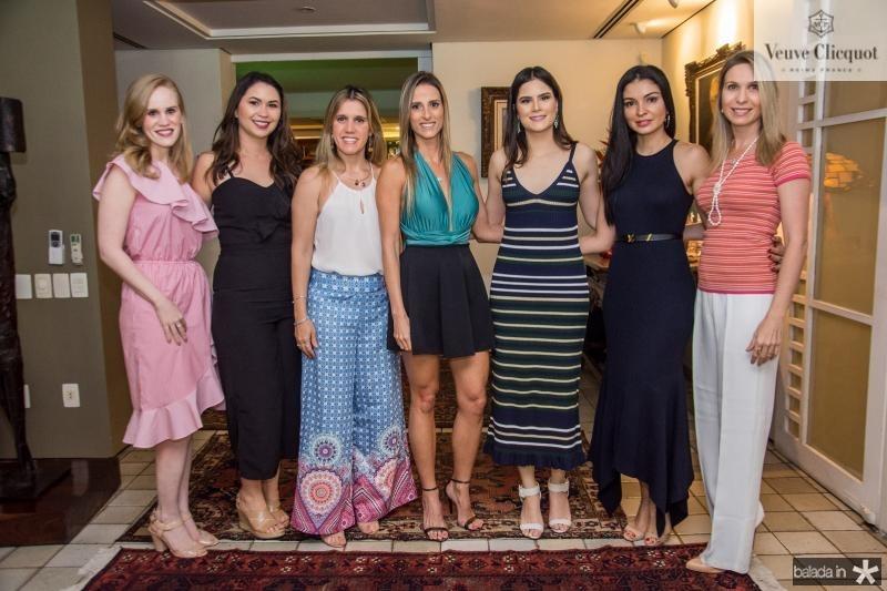 Lia Lousada, Mariana Carneiro, Ivina Pinheiro, Patricia Lima, Camile Quintao, Ilka Franck e Fabia Carneiro