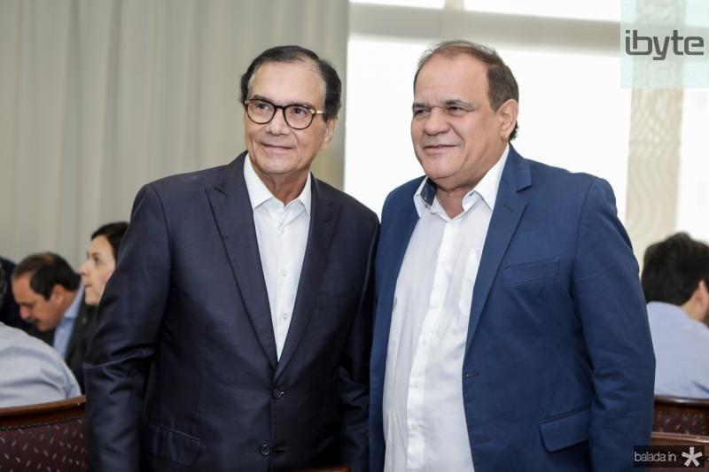 Beto Studart e Roberto Moreira