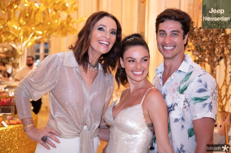 Andrea Natal, Isis Valverde e Andre Resende