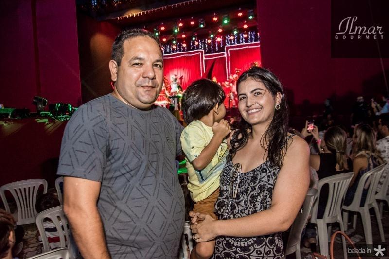 Romulo, Renato e Ticiana Garcia