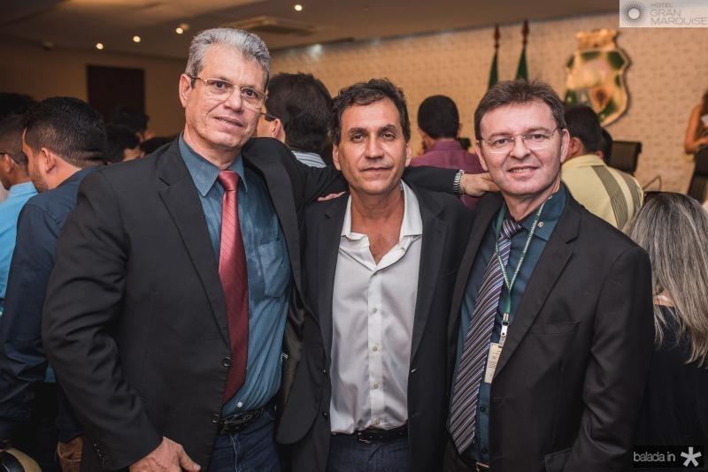 Marcos Cals, Luiz Edson e Carlos Martins