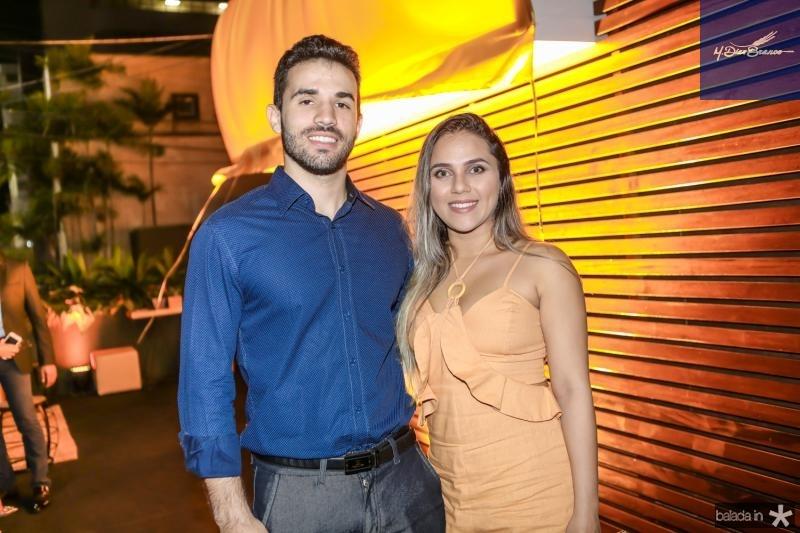 Renan Feitosa e Rebeca Alves