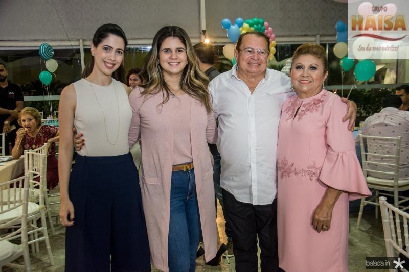 Lorena, Camile, Jose e Marluce Aragao