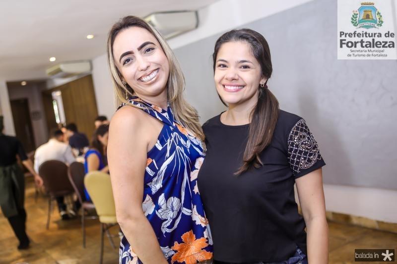 Mabel Portela e Juliana Alexandre