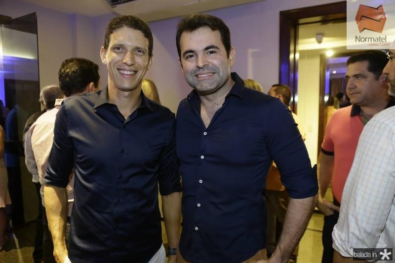 Thiago Mapurunga e Alan Sanker