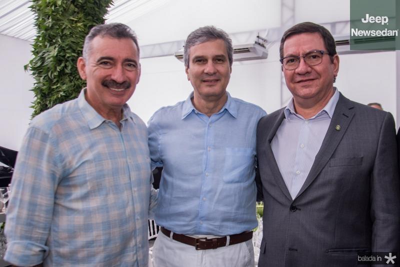 Artur Bruno, Thiago Santana e Lucio Ferreira Gomes