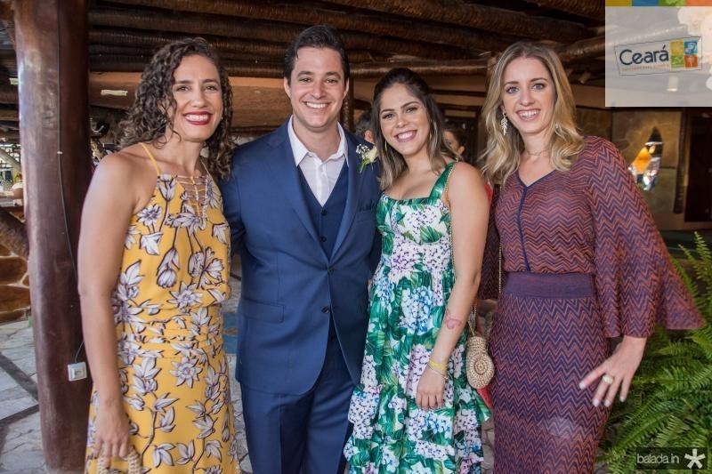 Yanna Guimaraes, Joao Cabral, Luana Luma e Livia Holanda