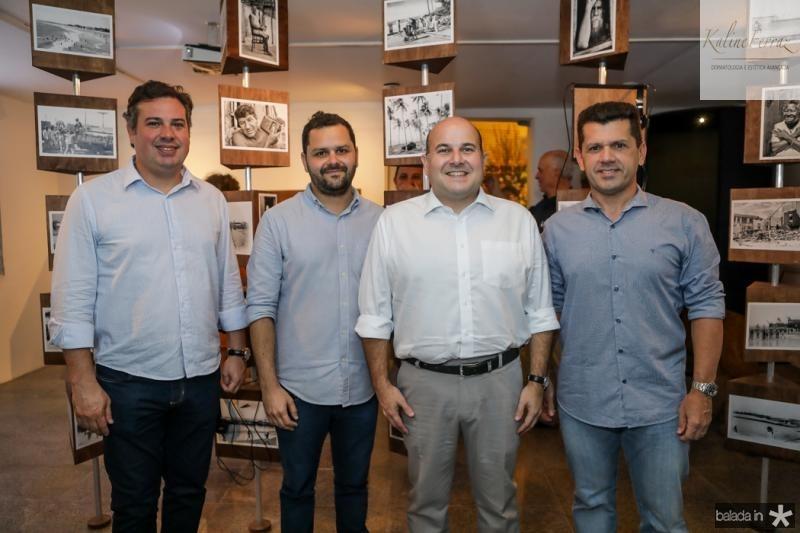 Samuel Dias, Roberto Claudio e Erick Vasconcelos
