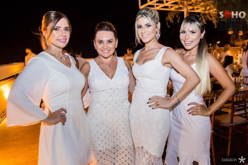 Ana Paula Jereissati, Socorro Medeiros, Patricia Jereissati e Grazi Nogueira