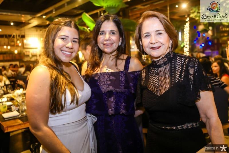 Maria Clara, Maria Lucia e Lenita Negrao