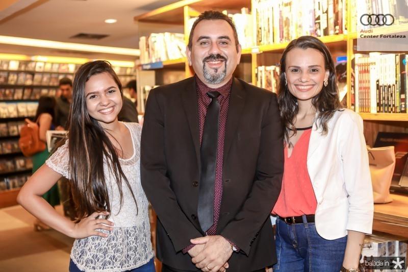 Hilare Araujo, Alexandre Sales e Viviane Mota