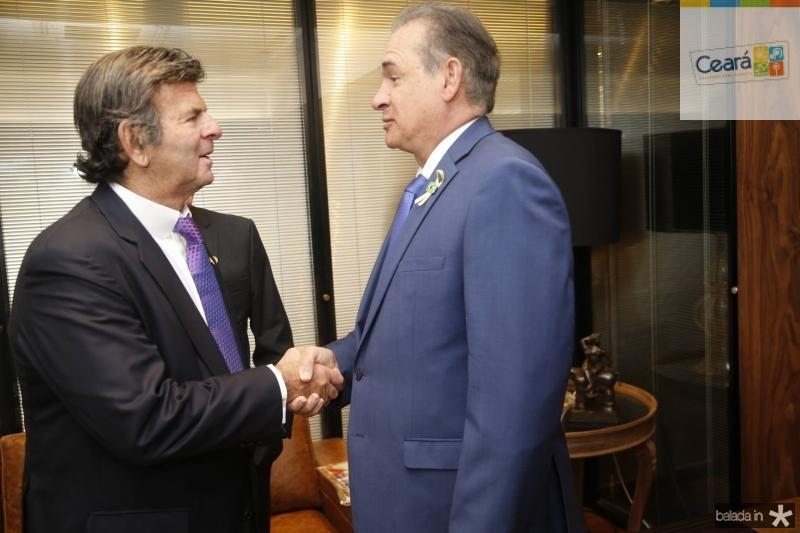 Luiz Fux e Washington Araujo
